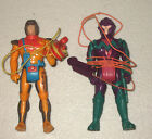 SKY COMMANDERS 2 FIGURE LOT RAIDER ROTH AND REX CLING
