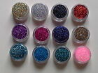 *~*ULTRA FINE GLITTER POTS ~ 0.008 * FOR NAIL ART*