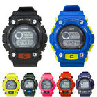 9 Colors Men Women Unisex Sports Day Date Digital Led Quartz Wrist Watch BF1U