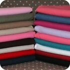 Linen Blend Plain Solid Fabric Half Metre 140cm x 50cm Linen and Cotton Mix.