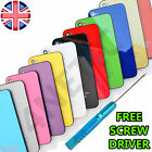 COLOUR REPLACEMENT BACK GLASS CASE BATTERY COVER HOUSING FOR iPHONE 4 4S