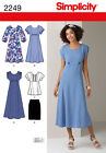 Simplicity Sewing Pattern 2249 - Misses' & Plus Size Dresses - Choice of Sizes