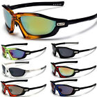 Wrap Around Men's Sport Sunglasses Cycling Running Glasses Black White Red Blue