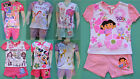 Girls Princess Pep TinkerBell Dora Minnie Giggle Monster Pyjamas pjs
