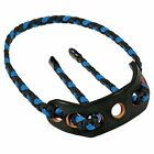New Paradox Adjustable Archery Recurve Compound Bow Sling Black Blue Red Braided