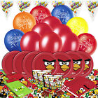 Angry Birds Complete Childrens Party Tableware Decorations Kits