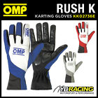 SALE! KK02736E OMP RUSH K GLOVES KART KARTING RACE GLOVES NEOPRENE 3 COLOURS