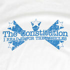 """The Constitution, I Read It for the Articles"" American Patriotic Stars T-Shirt"
