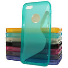 Hard Silicone Gel Case Cover For iPhone 5/5S/SE S-Line Sline Wave TPU Skin