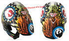 2014 Fly Racing Dragon Alliance HELMET Carbon Fiber Adult L Pearl-White-Multi