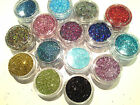 #ULTRA FINE GLITTER POTS ~ 0.008 * FOR NAIL ART, BODY ARTS & ARTS & CRAFTS#