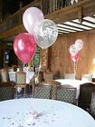 Happy Birthday Party Balloon Decoration DIY Kit -10 tables - Many Ages & Colours