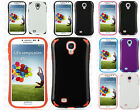 For Samsung Galaxy S4 S IV i9500 HARD Hybrid Fusion Rubber Silicone Case Cover