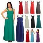 Womens Long Corset Style Ruffled Pleated Ball Evening Formal Dresses UK 6 to 24