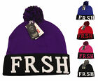 Fresh Bobble Beanie Hat, Designer Pom Pom Hats Beanies, Limited Edition FRSH