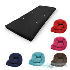 Cotton Single Bed Futon Sofabed Replacement Mattress Sofa Guest Roll Up Folding