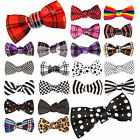 NEW MENS HIGH QUALITY BOWTIE NOVELTY WEDDING GROOM TUXEDO BOW TIE NECKTIE