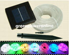 Solar Power Rope 100Leds light Tube String Ourdoor Garden Party Fairy Waterproof