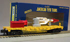 LIONEL AMERICAN FLYER LINES ROCKET FLATCAR S GAUGE AF 2 49624 rail train 6-49052