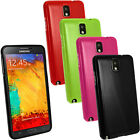 Glossy TPU Gel Skin Case Cover for Samsung Galaxy Note 3 SM-N9005 + Screen Prot