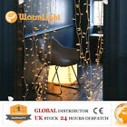 LED Fairy Curtain Lights White/Warm White/RGB Party Shows Bar Windows Entrance