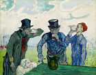 The Drinkers Vincent van Gogh Art Prints on Canvas Giclee Painting Reproduction