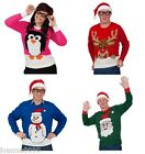 *ADULT QUALITY DELUXE NOVELTY CUTE CRIMBO CHRISTMAS JUMPER FANCY DRESS COSTUME*