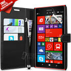 FLIP WALLET LEATHER CASE COVER FITS NOKIA LUMIA 1520 FREE SCREEN PROTECTOR