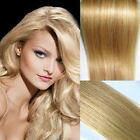 Blonde Mixed #18/613 Full Head Remy Hair Weft Human Hair Extension Straight 100g