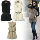 5 Colors Casual Hooded Hoodie Winter Warm Top Vest Coat Jacket Outwear Waistcoat