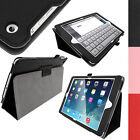 PU Leather Stand Case Cover Holder for Apple iPad Air 2013 iPad 5 + Sleep / Wake