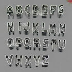 Alphabet A-Z or Number 0-9 Cookies Cutter Biscuit Mold Decorating Fondant 5007
