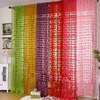 Heart Curtain Panel Line String Door Wall Window Vestibule Tassel Drape 2M x 1M