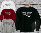 Wasted Youth Indie Hipster Swag Moustache Triangle Sweatshirt Sweater Jumper Top
