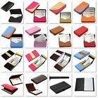 New Leather Business Credit ID Card Holder Case Wallet Men's Women's Purse