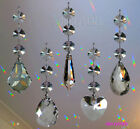 Hanging Crystal Suncatcher Feng Shui Rainbow Prism made using Swarovski Octagons