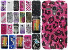 For Motorola Moto G Crystal Diamond BLING Protector Hard Case Phone Cover