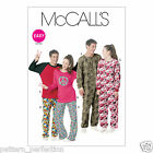 McCall's 6251 Sewing Pattern for Adult Onesie Sleepsuit/Jumpsuit & Pyjama Seps
