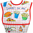 Dex Baby Dura Bib with Catch All Pocket and Lifetime Warranty Large 6 months +