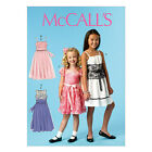 McCall's 6880 OOP Easy Sewing Pattern to MAKE Special Girls' Dresses