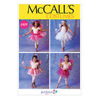 McCall's 6906 Easy Sewing Pattern to MAKE Cute Girls' Tutu Skirt Based Costumes