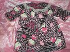 CLOTHES FOR  BITTY BABY /AMERICAN GRIL BLK. & PINK LEOPARD  HELLO KITTYNIGHTGOWN