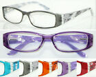 R368 Super Fashion Reading Glasses Spring Hinges+100+125+150+175+200+225+250+300