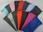 (D1) 12 pcs Pouch/Soft Drawstring Case Bag for Glasses,Sunglasses,Spectacles