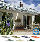 2.5m x 2m Primrose Patio Awning Manual Garden Canopy Sun Shade Retractable