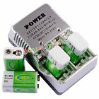 4 BTY 9v 9 Volt Rechargeable Battery 300mAh + Charger