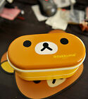 New Heat Preservation Plastic Lunch Box Double Layers Bento With Chopsticks