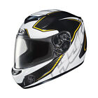 HJC Full Face CS-R2 Injector Adult Helmet White Black Yellow