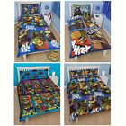 TEENAGE MUTANT NINJA TURTLES BEDDING - SINGLE AND DOUBLE DUVET COVERS