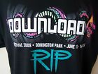 "*NEW* OFFICIAL DOWNLOAD 2008 RIP R.I.P. MENS BLACK T SHIRT SIZE L 42"" CHEST"